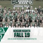 Senior Nights – Fall 2019