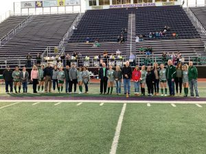 Girls Soccer Senior Night (10/9/19)