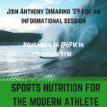 EAT, MOVE, & IMPROVE – Anthony DiMarino comes to Holy Name!