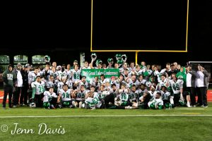 The Green Wave defeats Fairview 42-7 to finish the regular season 8-2 and become GLC Conference Champs