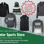 The 2019 Holy Name High School winter online team store is now live!!