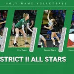 Congratulations to our District II Volleyball All-Stars