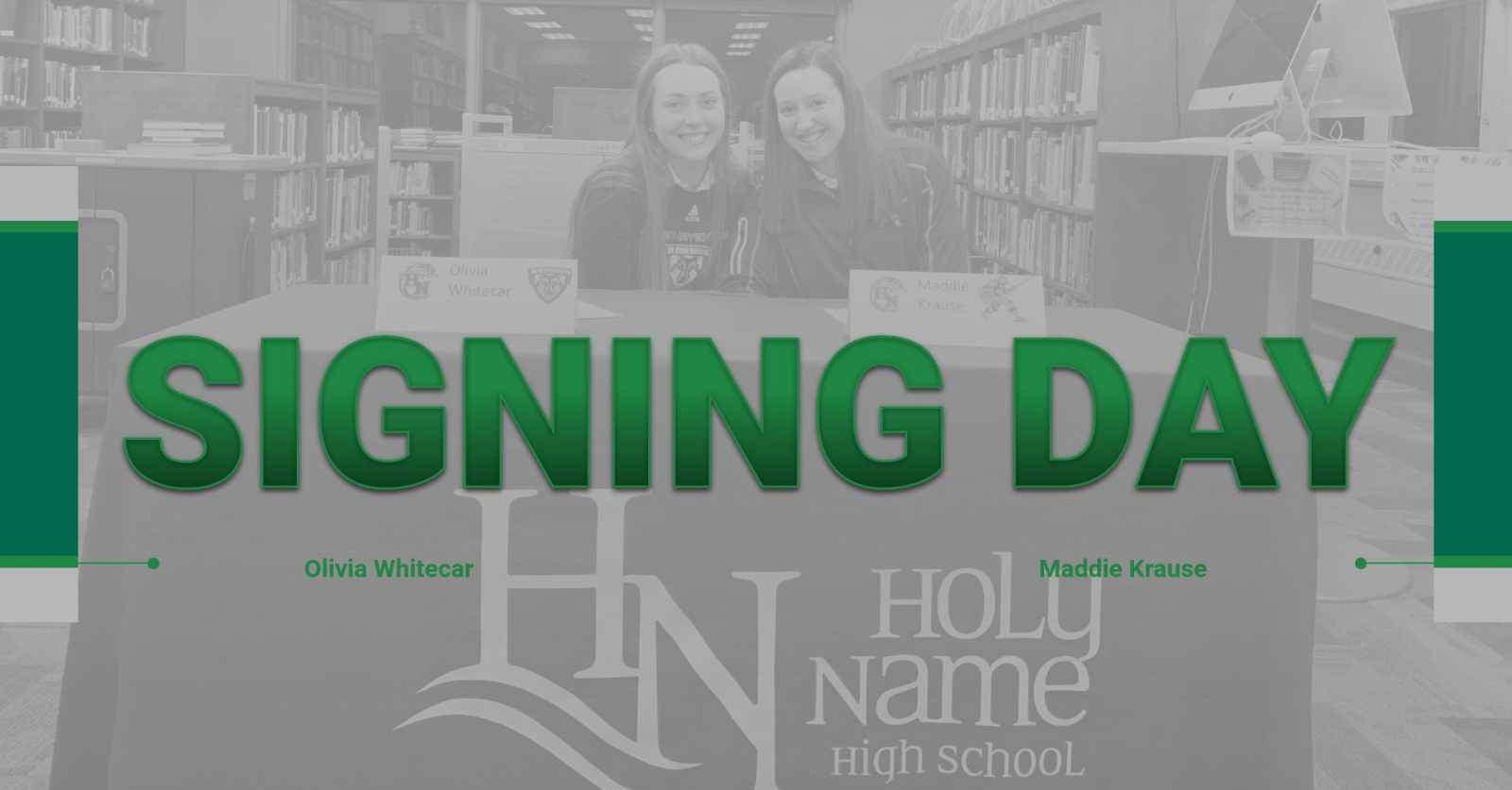 Winter 2020 Signing Day: Two Student-Athletes Commit