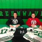 Holy Name's Dickey, Ehlert sign with NA3HL's Sheridan Hawks