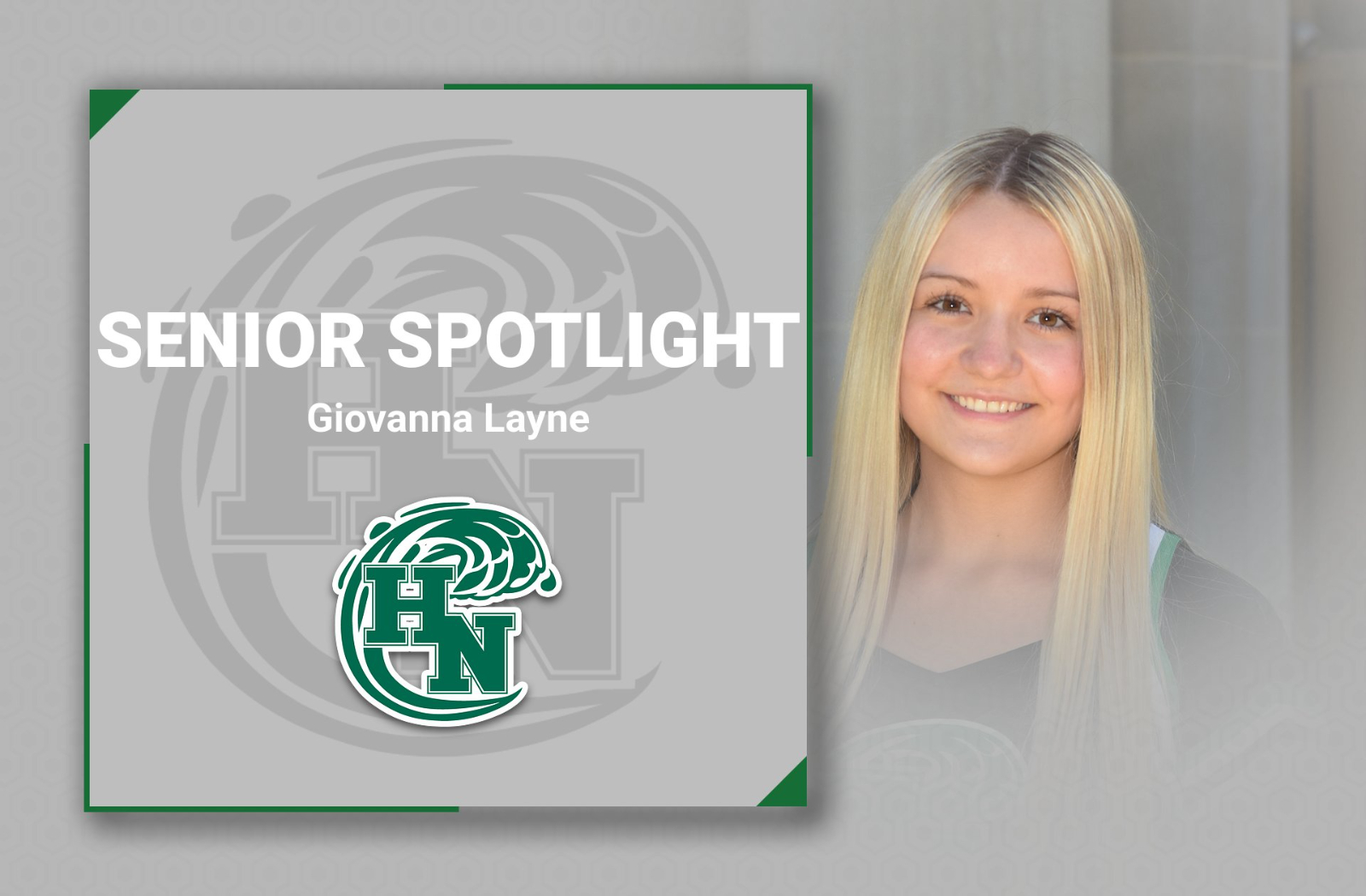 Senior Spotlight – Giovanna Layne