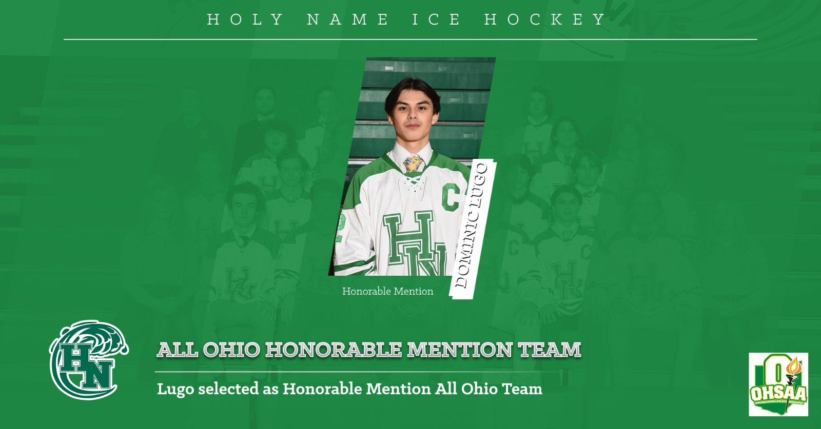 Dominic Lugo – All Ohio Honorable Mention