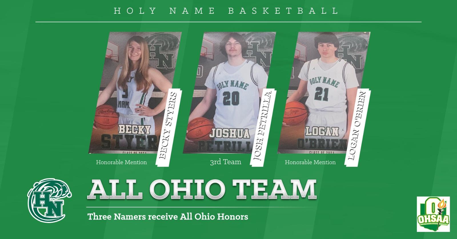 All Ohio Division II Basketball Team 2021