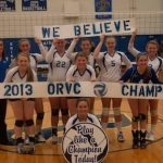 RS Lady Shiners- ORVC Volleyball Co-Champs!!