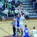 Rising Sun High School Basketball Varsity Boys beats Shawe Memorial High School 56-39