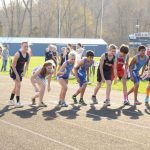 RS in Tri track meet with Switz Co and JCD