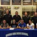 Alix DeDreu signs to play softball at Thomas More College
