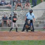 Back and Forth game with East Central Softball