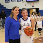 Carrigan Breaks Scoring Record