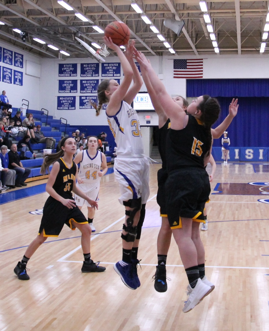 Lady Shiners edge out Milan for first conference win of the season