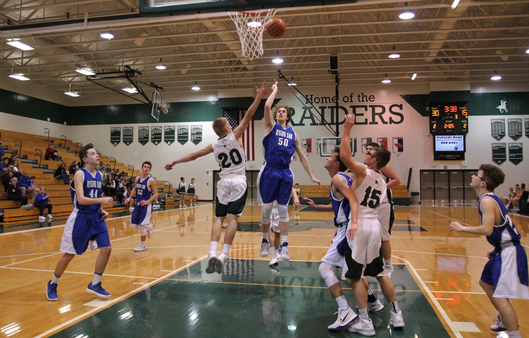 Shiners Draw Jets
