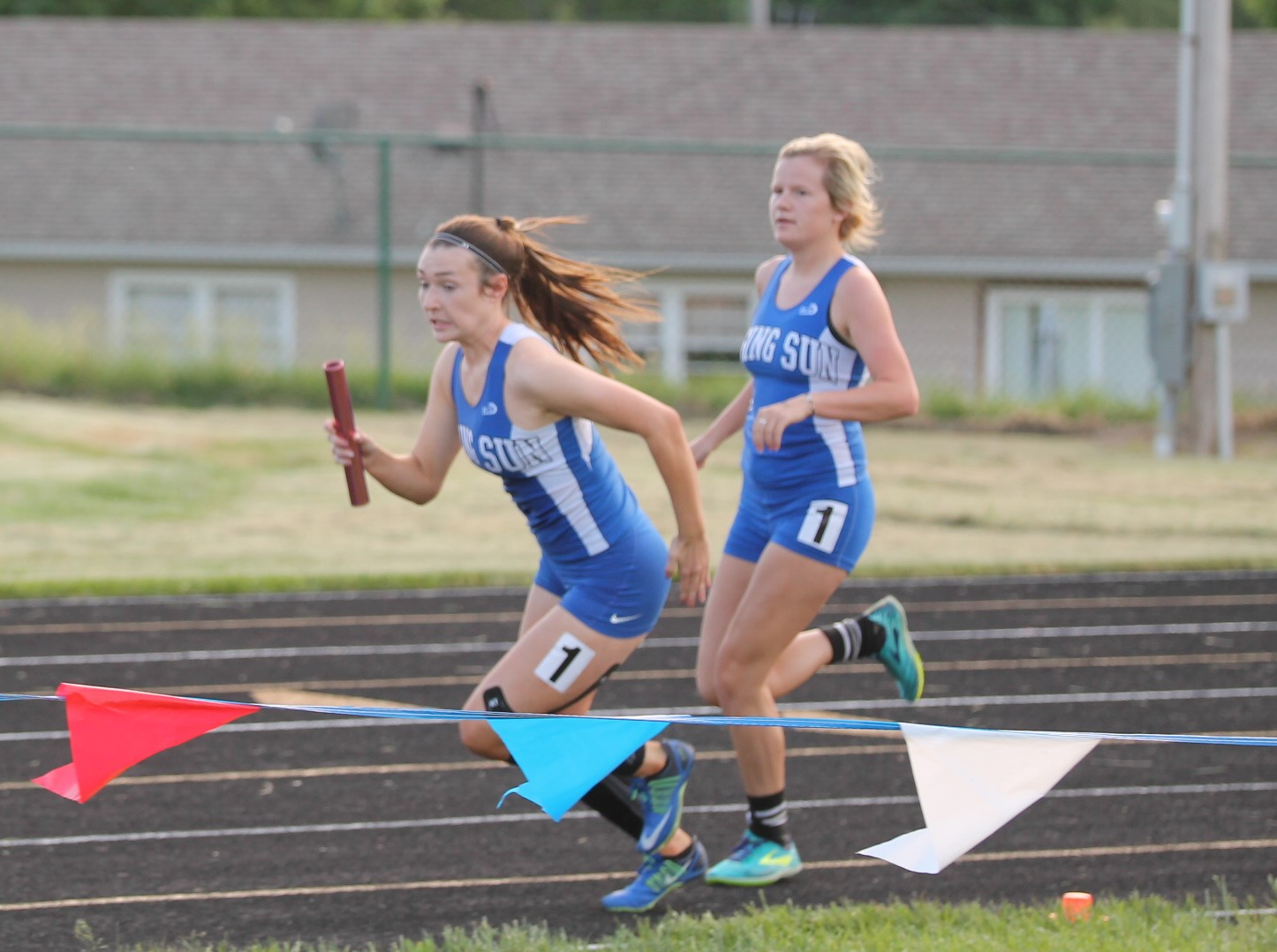 Rising Sun Girl's Track at the 2018 Girl's Track Sectionals