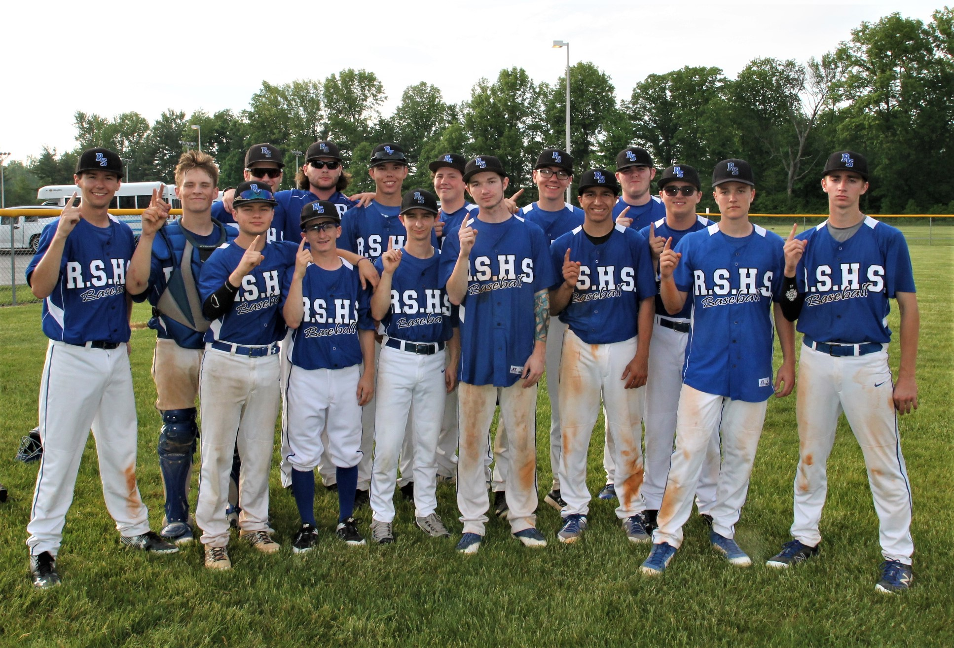 Shiners are ORVC Baseball Co-Champs!