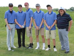 RSHS Golf Team played in the ORVC at Rising Star Golf Course 5-19-2018