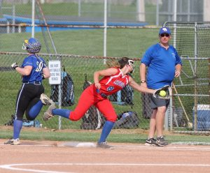 RSHS Girls Softball Vs North Decatur Sectional 5-21-2018 Lost 0 to 5