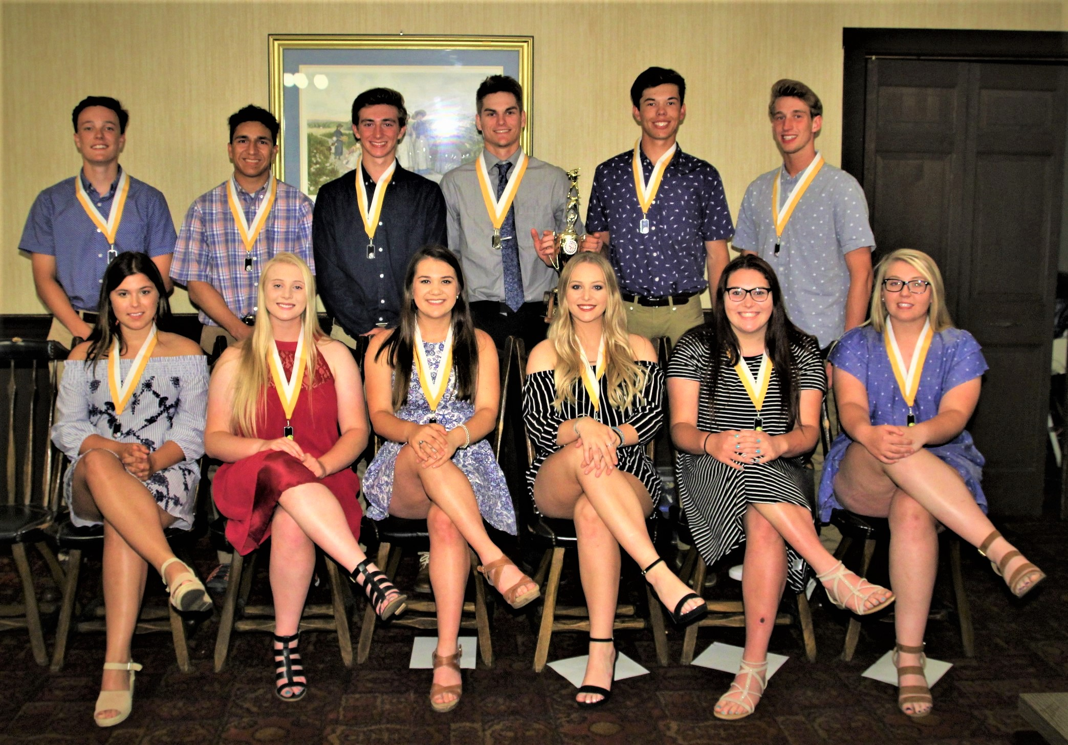 Spring Sport All-Conference Members Honored at ORVC Banquet