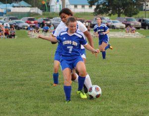 RSHS Girls Soccer Vs Greensburg 8-14-2018 Won 6 to 1