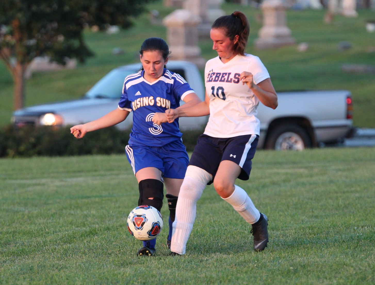 Lady Shiner's allow 7 goals, Lose to Lady Rebels