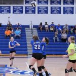 RSHS Girls JV Volleyball Vs Shawe Memorial 8-28-2018 won 2 games 25-22, 25-13