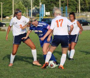 Girls Soccer- Rising Sun over Switz. Co. 8-30-18