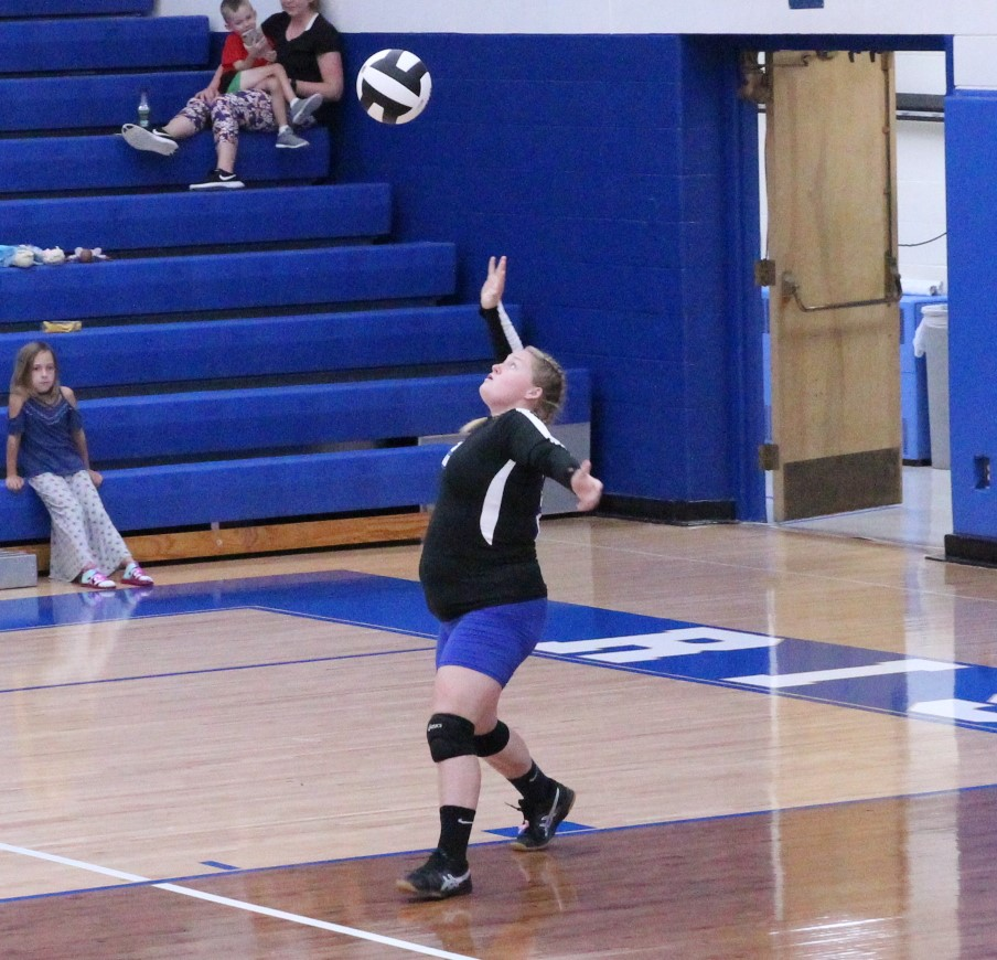 Lady Shiners Volleyball defeat Jac Cen Del