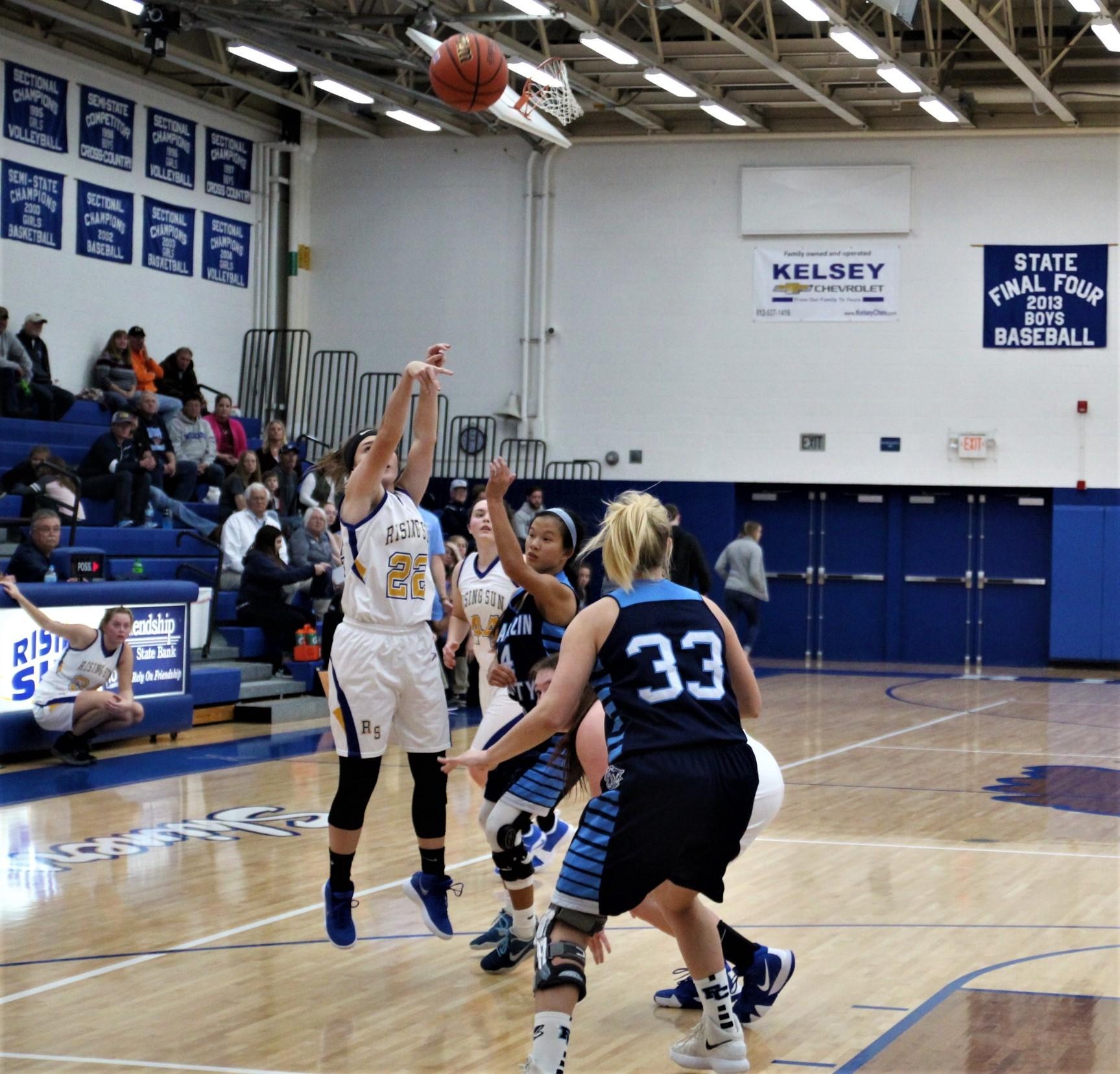 Girls Basketball vs. Lawrenceburg at Greendale Middle School