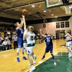 Boys Varsity Basketball falls to South Ripley 45 – 24