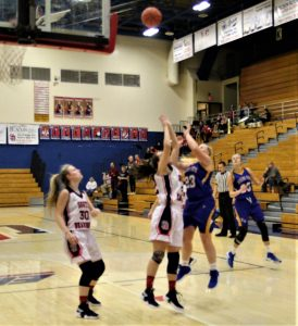 RSHS Girls Basketball Vs South Dearborn 11-27-2018 Lost 42 to 47