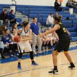 Close game between Lady Shiners and Lady Indians