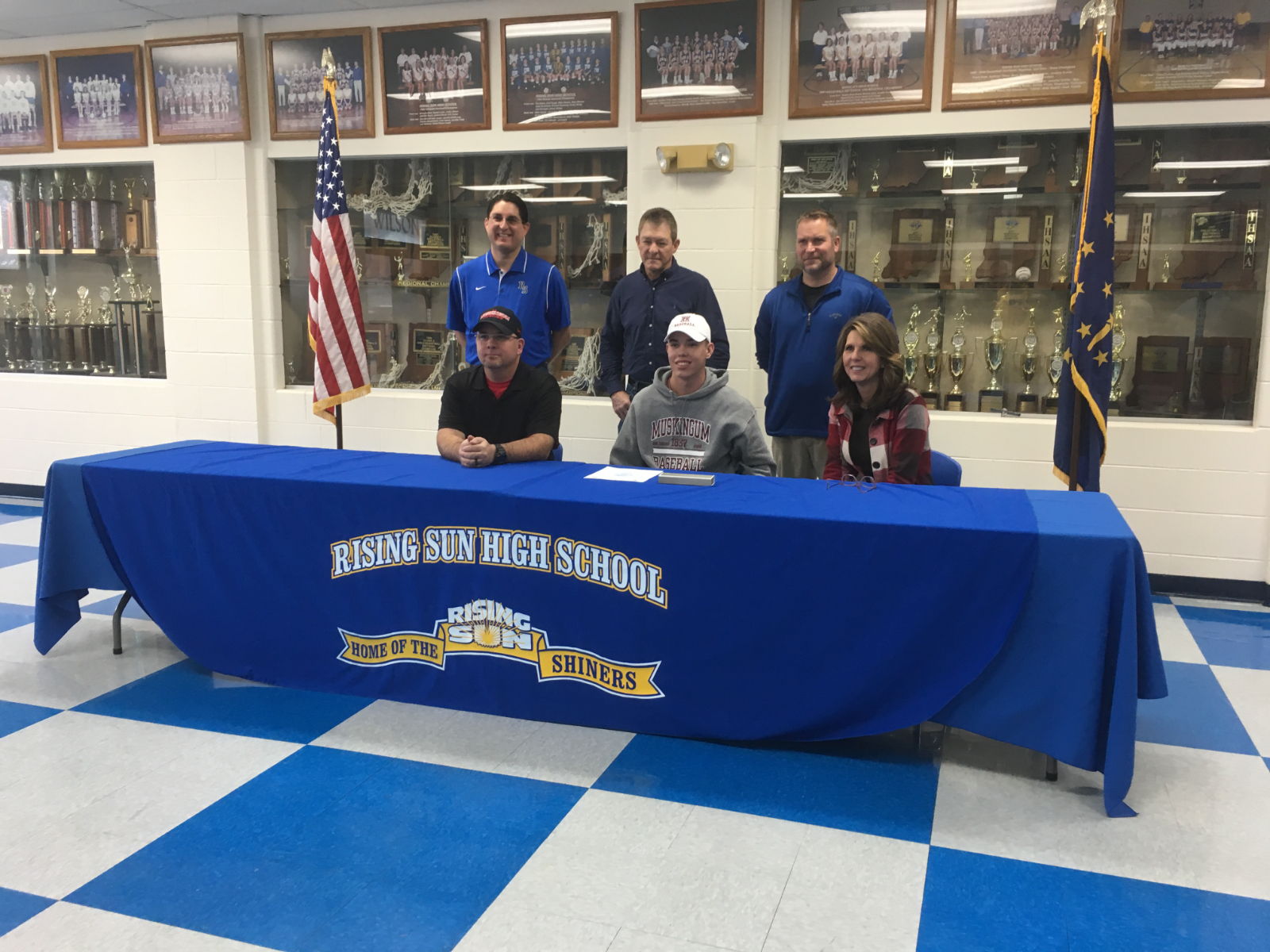 Brayden Bush Commits to Play Baseball at Muskingum University