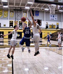 RSHS Boys (V) Basketball Vs Morristown 2-19-2019 Lost 39 to 48