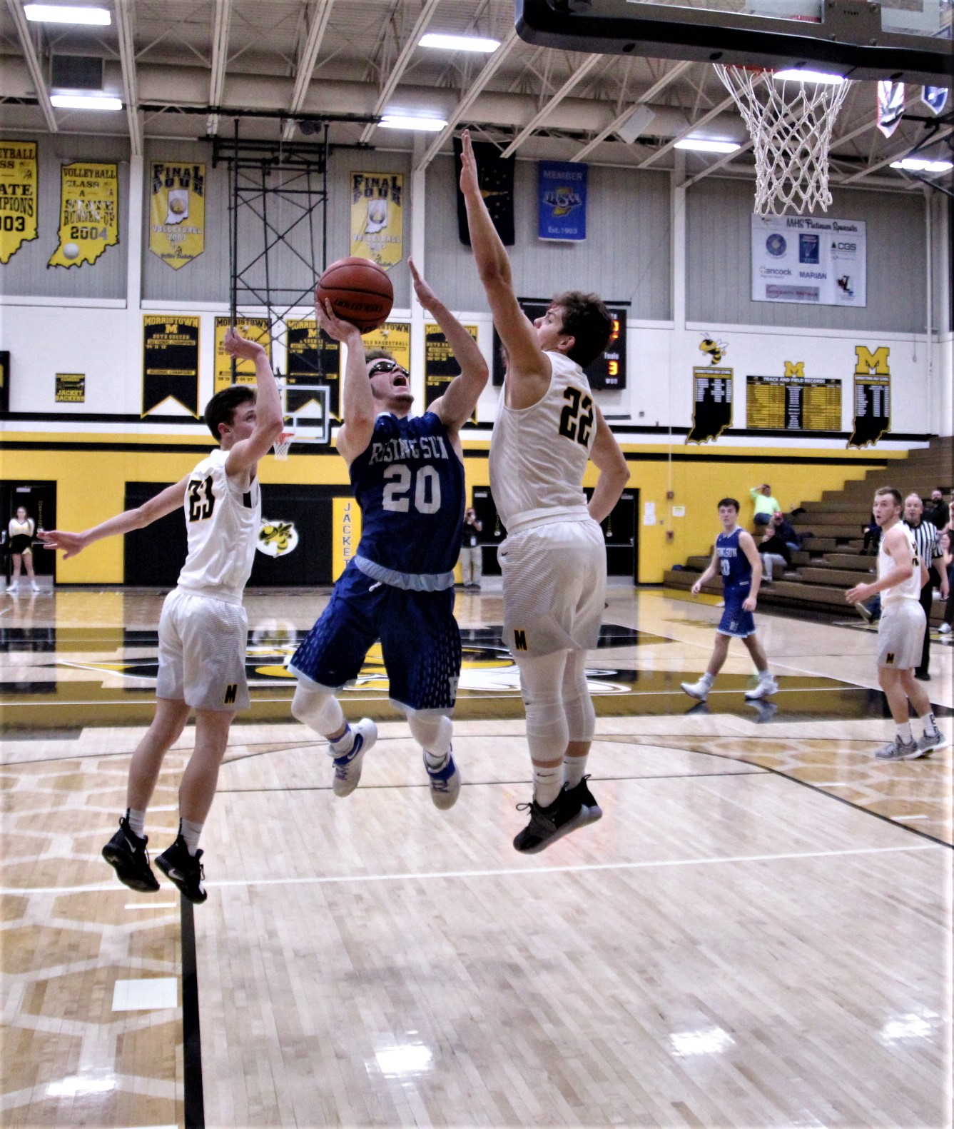 Shiners battle…Lose to defending State Champs