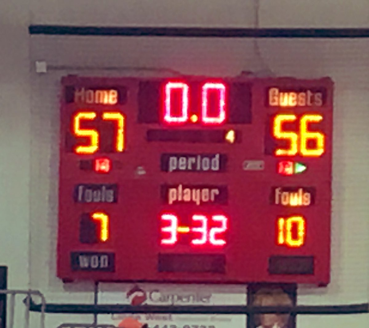 Shiners lose by 1 to defending State Champs in Sectional Opener