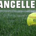Softball Doubleheader Cancelled Today