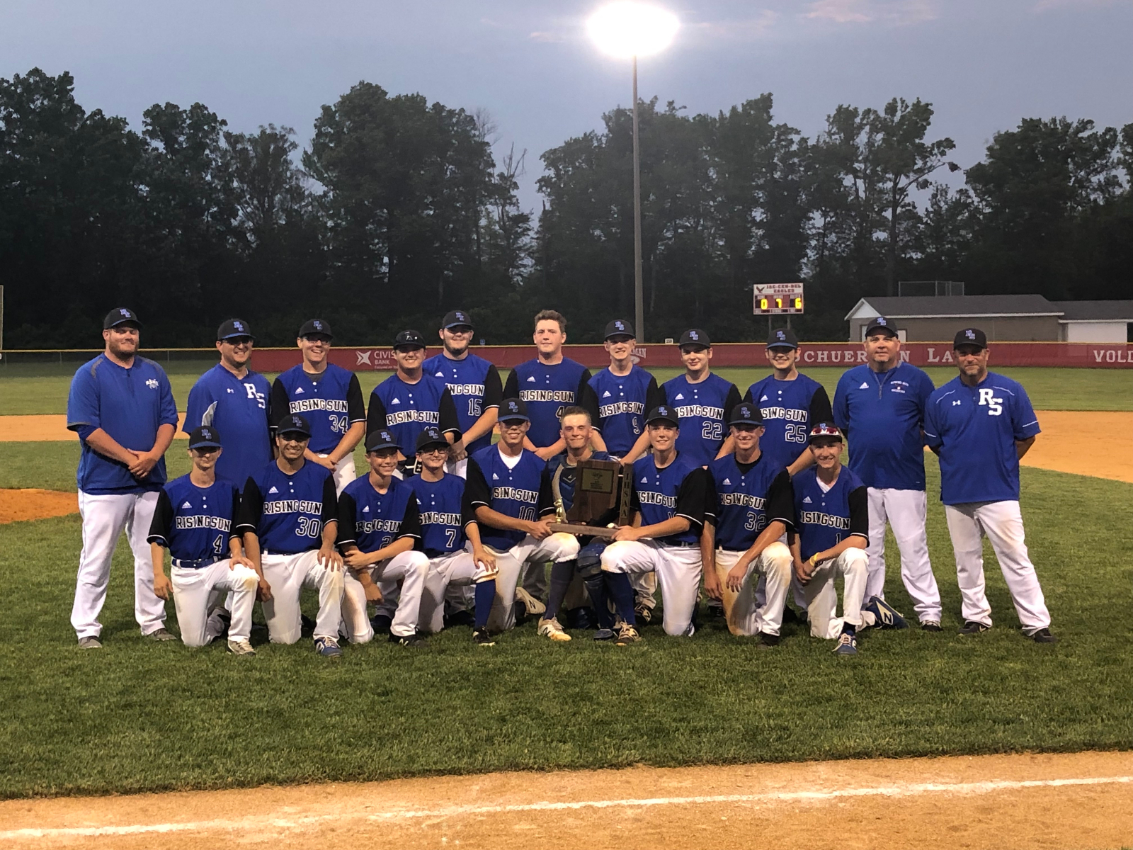 Baseball Wins Sectional and Advance to Regional