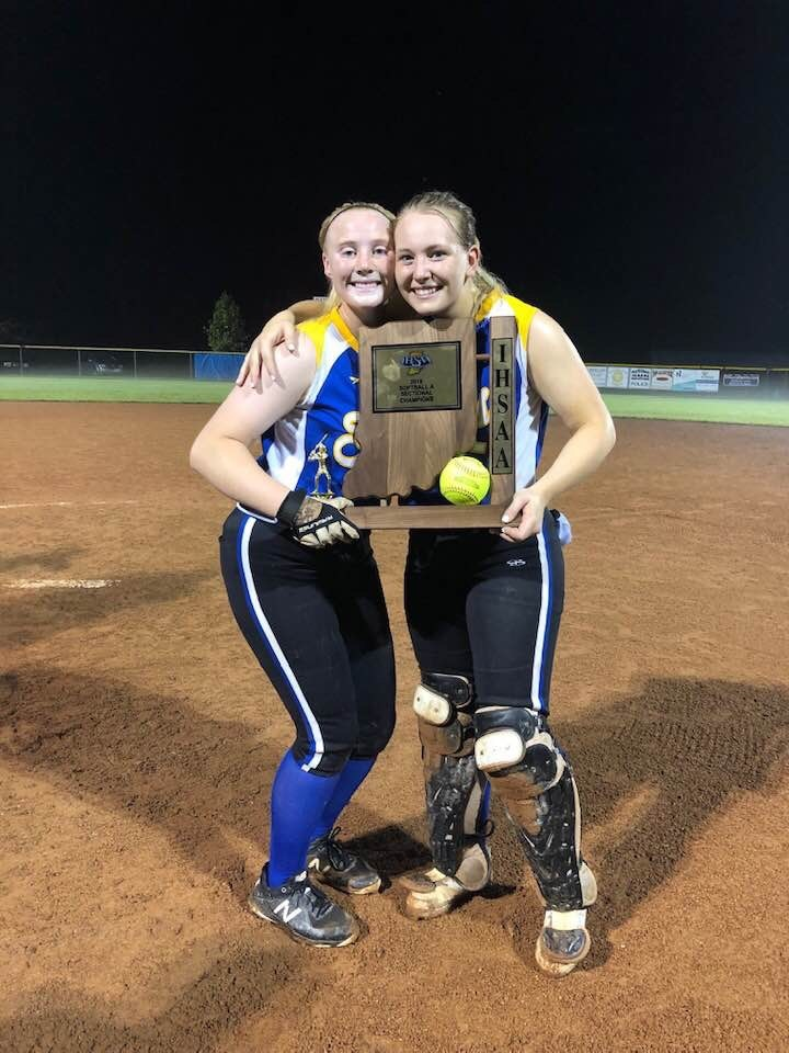 Bostic and Pitts Named All-State Softball Players
