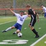 Lawrenceburg Tigers Gets the Win over Rising Sun Boys Soccer