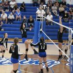 Shiner Volleyball wins conference match at home vs. South Ripley