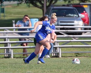 RSHS Girls Soccer Vs South Ripley 9-11-2019 Won 2 to 0