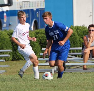 RSHS Boys Soccer Vs Jac-Cen-Del 9-13-2019 Tied 1 to 1