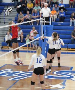 RSHS Girls Volley Ball Vs South Dearborn 9-24-2019 Won 3 games out of 5