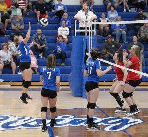 RSHS Girls Reserve Volley Ball VS South Dearborn 9-24-2019 Lost 2 out of 3