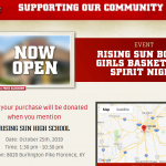 Support Your Girls and Boys Basketball Teams at Raising Cane's in Florence