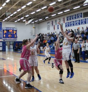 RSHS Girls Varsity Basketball Vs Switzerland County 11-22-2019 Lost 22 to 56