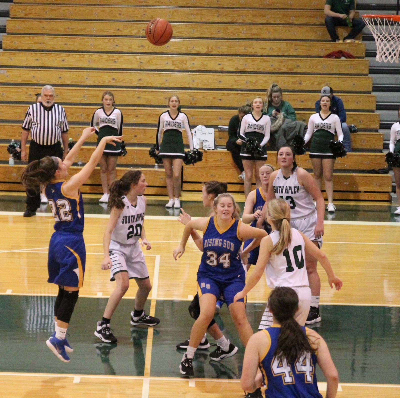 Lady Shiners Fall to South Ripley 53-35