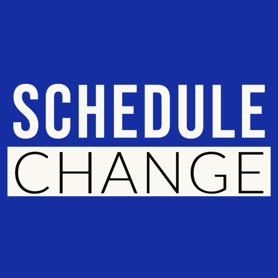 Schedule Changes for Sports for the Week of July 6-10